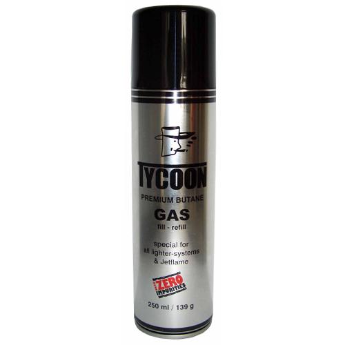 Plyn do zapalovače Tycoon 250ml čistý